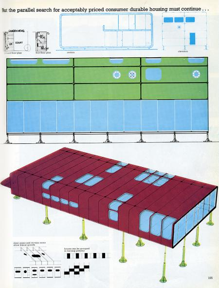Richard and Su Rogers. Architectural Review (MANPLAN 8) v.147 n.883 Sep 1970, 195
