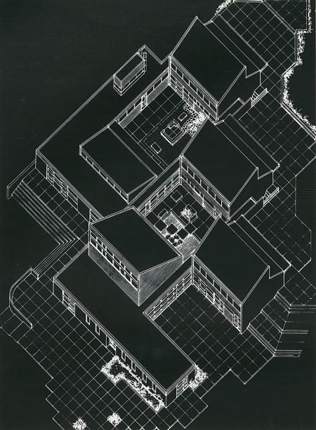 Roger Pumford. Architectural Review (MANPLAN 4) v.147 n.875 Jan 1970, 24