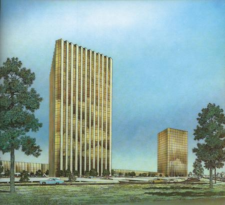 Neuhaus and Taylor. Architectural Record. Nov 1971, 193