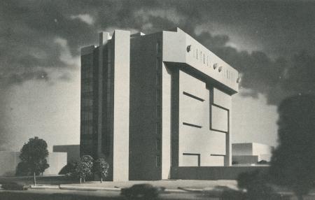 Ulrich Franzen. Architectural Record. Jul 1971, 116