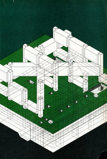 Gunnar Birkerts. Progressive Architecture 54 March 1973, 73
