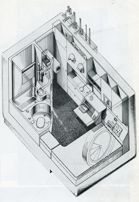 Kisho Kurokawa. Architectural Record. Feb 1973, 113