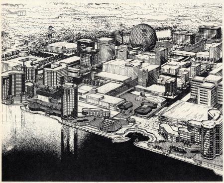 Angelos C. Demetriou. Architectural Record. Apr 1974, 34