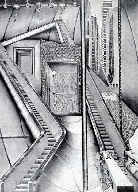 Candida Amsden. Architectural Design 44 August 1974, 469
