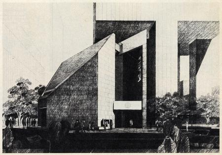 Hugh Stubbins and Associates. Architectural Record. Aug 1974, 37
