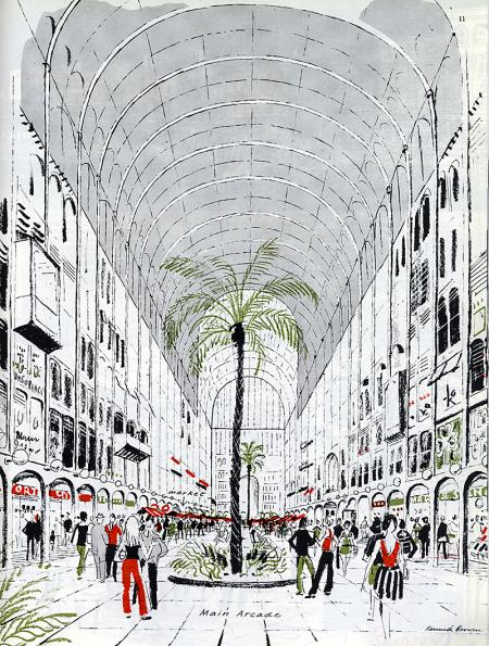 Kenneth Browne. Architectural Review v.156 n.933 Nov 1974, 313