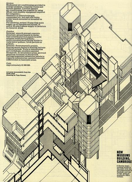 Tony Dyson. Architectural Review v.155 n.924 Feb 1974, 78