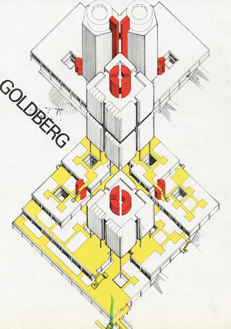 Bertand Goldberg. A+U 07 1975, cover