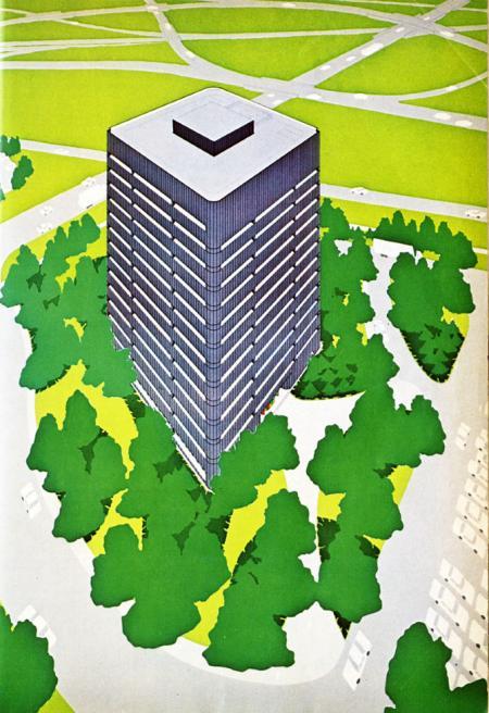 Gunnar Birkerts. Progressive Architecture 56 September 1975, 59