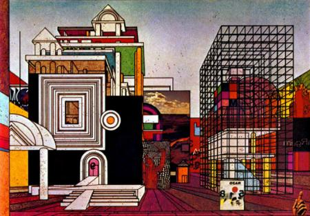 Lebbeus Woods. Progressive Architecture 55 January 1975, 89