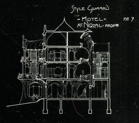 Hector Guimard (1912). Hector Guimard(Monograph Series), Architectural Design, London 1978, 57