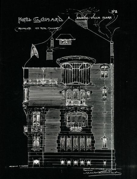 Hector Guimard (1912). Hector Guimard(Monograph Series), Architectural Design, London 1978, 74