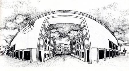 P Hautcoeur. Architecture D'Aujourd'Hui 207 February 1980, 25