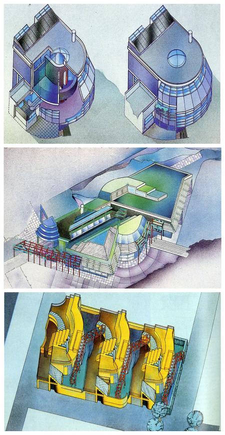 Peter Cook. Architecture D'Aujourd'Hui 209 June 1980, 72