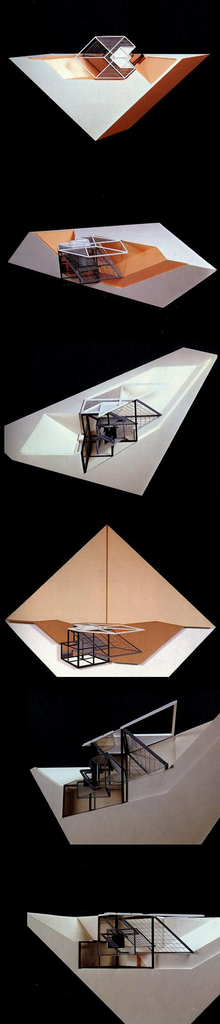 Peter Eisenman. GA Document. 3 1981, 90