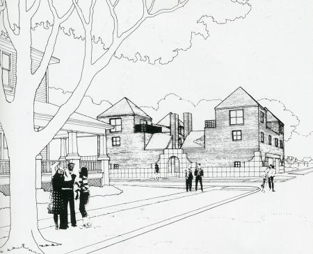Taft Architects. GA Document. 6 1983, 73