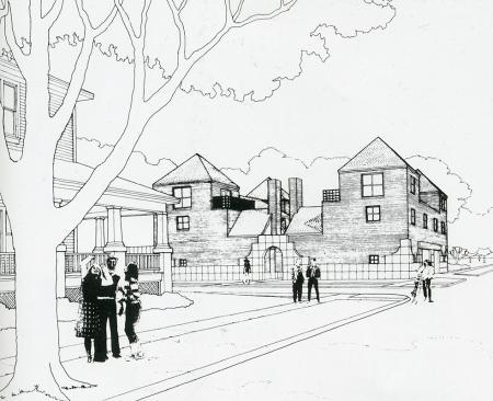 Taft Architects. GA Document. 6 1983, 73