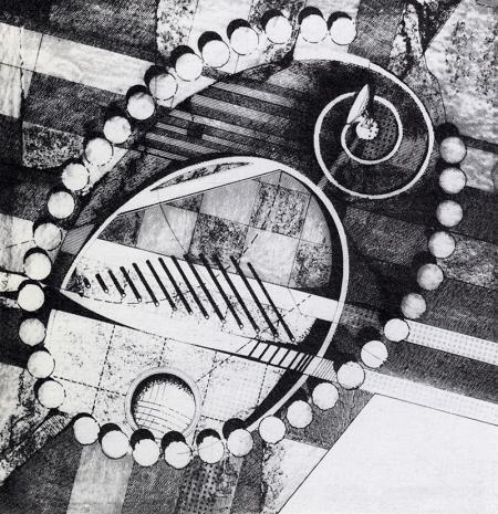 Bernard Desmoulin. L'invention du parc. Graphite 1984, 224