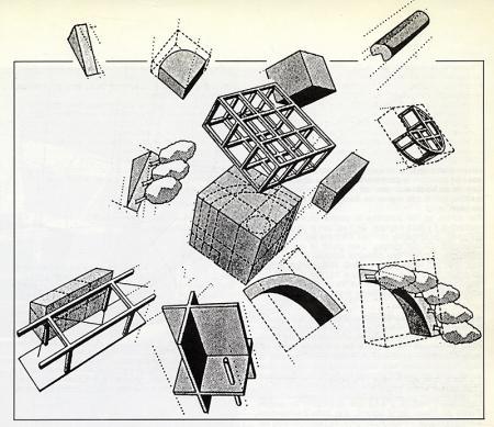 Bernard Tschumi. L'invention du parc. Graphite 1984, 29