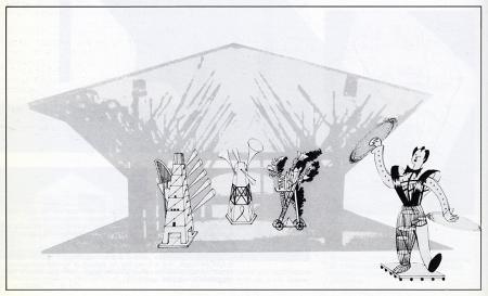 Burkhard Grashorn. L'invention du parc. Graphite 1984, 144