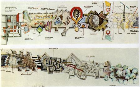 Gaetano Pesce. L'invention du parc. Graphite 1984, 74