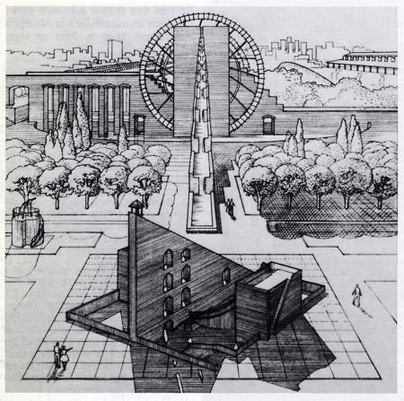 Jean Aubert and Michel Cantal-Dupart. L'invention du parc. Graphite 1984, 104