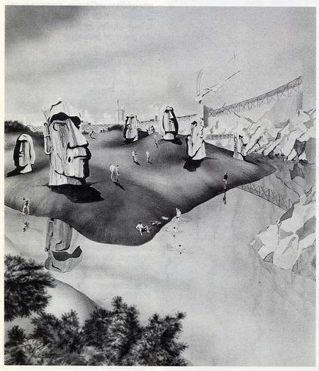 Roland Castro. L'invention du parc. Graphite 1984, 92
