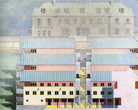 Stanley Tigerman. Architectural Record 172 April 1984, 129