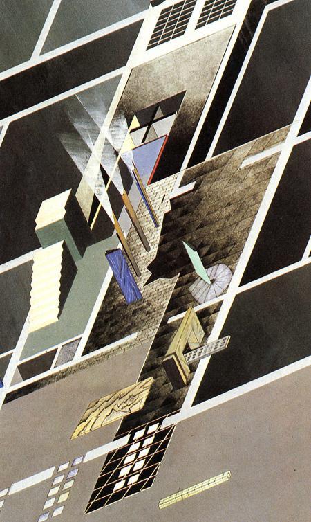 Zaha Hadid Kasha Knapkiewicz Jonathan Dunn Bijan Ganjei. Architecture D'Aujourd'Hui 233 June 1984, 66
