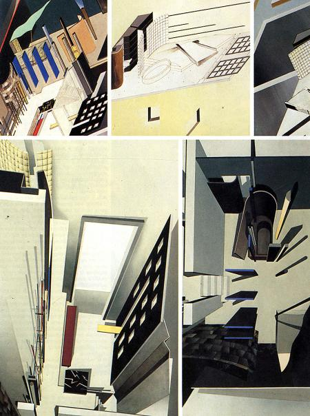 Zaha Hadid Kasha Knapkiewicz Jonathan Dunn Bijan Ganjei. Architecture D'Aujourd'Hui 233 June 1984, 67