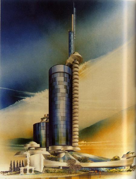 Arthur Dyson. A+U 174 March 1985, 78