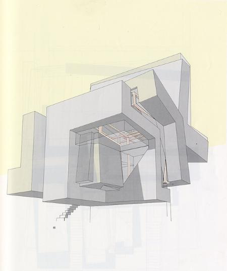 Peter Eisenman. A+U 220 January 1989, 21