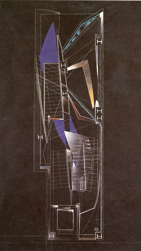 Zaha Hadid. AA Files 17 Spring 1989, 73