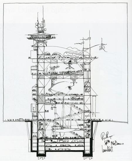 Richard Rogers. Japan Architect 7 Summer 1992, 222