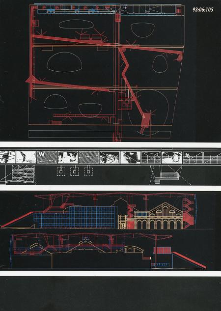 Bernard Tschumi. A+U Special Issue March 1994, 105