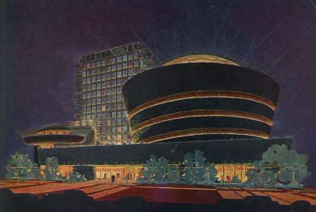 Frank Lloyd Wright. Architectural Forum Apr 1952, 143