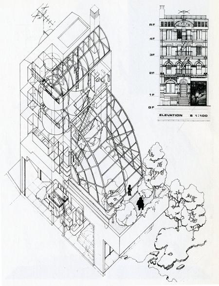 Masanori Kei. Japan Architect 53 Feb 1978, 47