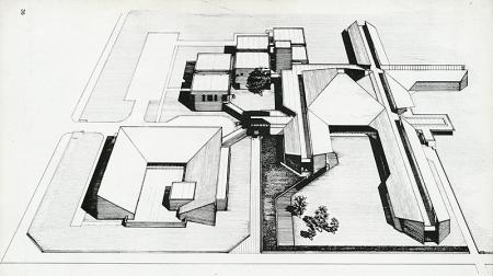 Masato Otaka. Japan Architect 52 Feb 1977, 36