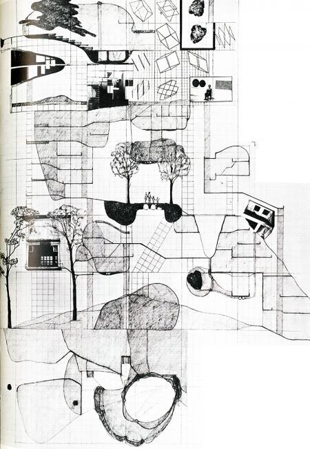Volker Giencke. Japan Architect 53 Feb 1978, 23