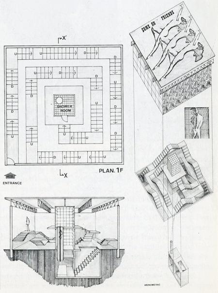 Yasuhiro Myogahara. Japan Architect 53 Feb 1978, 47
