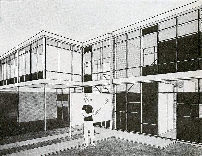 Tetsui takayanagi architecture d 39 aujourd 39 hui v 20 no 28 for Architecture 1950
