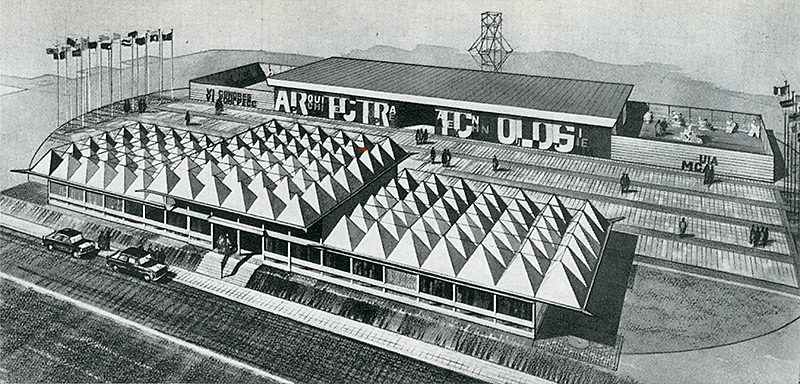 John ernest architectural review apr 1961 for Architecture 770